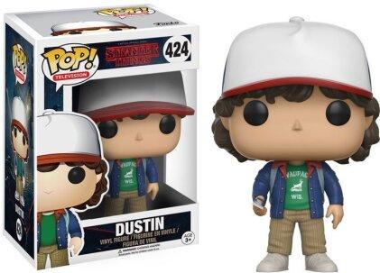 Stranger Things: Dustin POP! 424 - Vinyl Figur