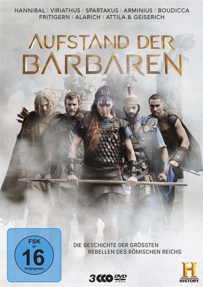 Aufstand der Barbaren (History Channel, 3 DVDs)