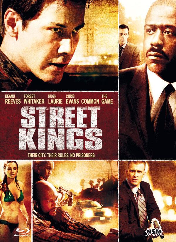 Street Kings (2008) (Cover A, Mediabook, Blu-ray + DVD)
