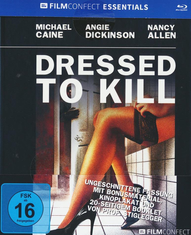 Dressed to kill (1980) (Filmconfect Essentials, Mediabook, Uncut)