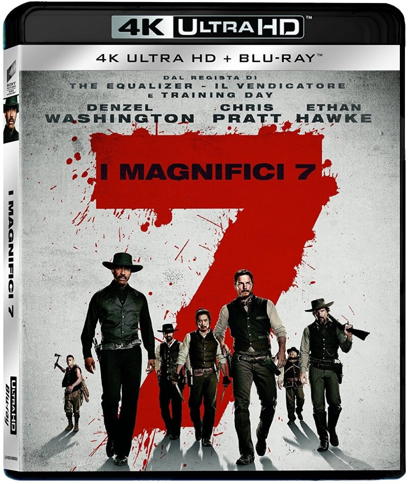 I magnifici 7 (2016) (4K Ultra HD + Blu-ray)