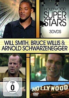 Hollywood Super Stars - Will Smith, Bruce Willis & Arnold Schwarzenegger
