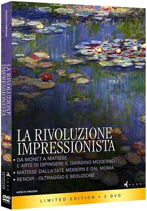 La rivoluzione impressionista (Limited Edition, 3 DVDs)