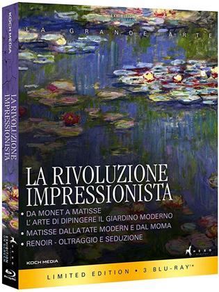 La rivoluzione impressionista (Edizione Limitata, 3 Blu-ray)