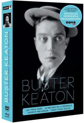Buster Keaton (Box, s/w, 4 Blu-rays + 4 DVDs)