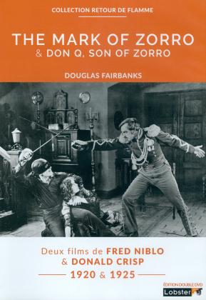 The Mark of Zorro / Don Q, Son of Zorro (Collection Retour de Flamme, 2 DVDs)