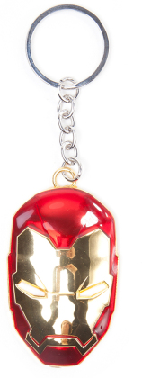 Porte-clef 3D Métal - Iron Man - Iron Man