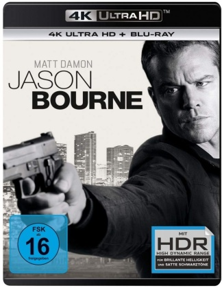 Jason Bourne (2016) (4K Ultra HD + Blu-ray)