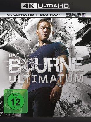 Das Bourne Ultimatum (2007) (4K Ultra HD + Blu-ray)