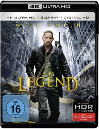 I am Legend (2007) (4K Ultra HD + Blu-ray)
