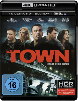 The Town - Stadt ohne Gnade (2010) (Extended Edition, Kinoversion, 4K Ultra HD + Blu-ray)