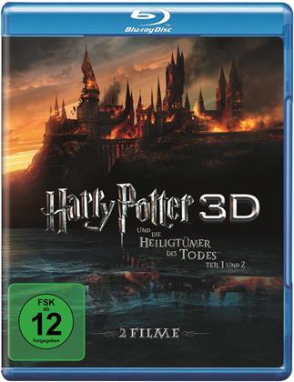 Harry Potter und die Heiligtümer des Todes - Teil 1 & 2 (2 Blu-ray 3D)