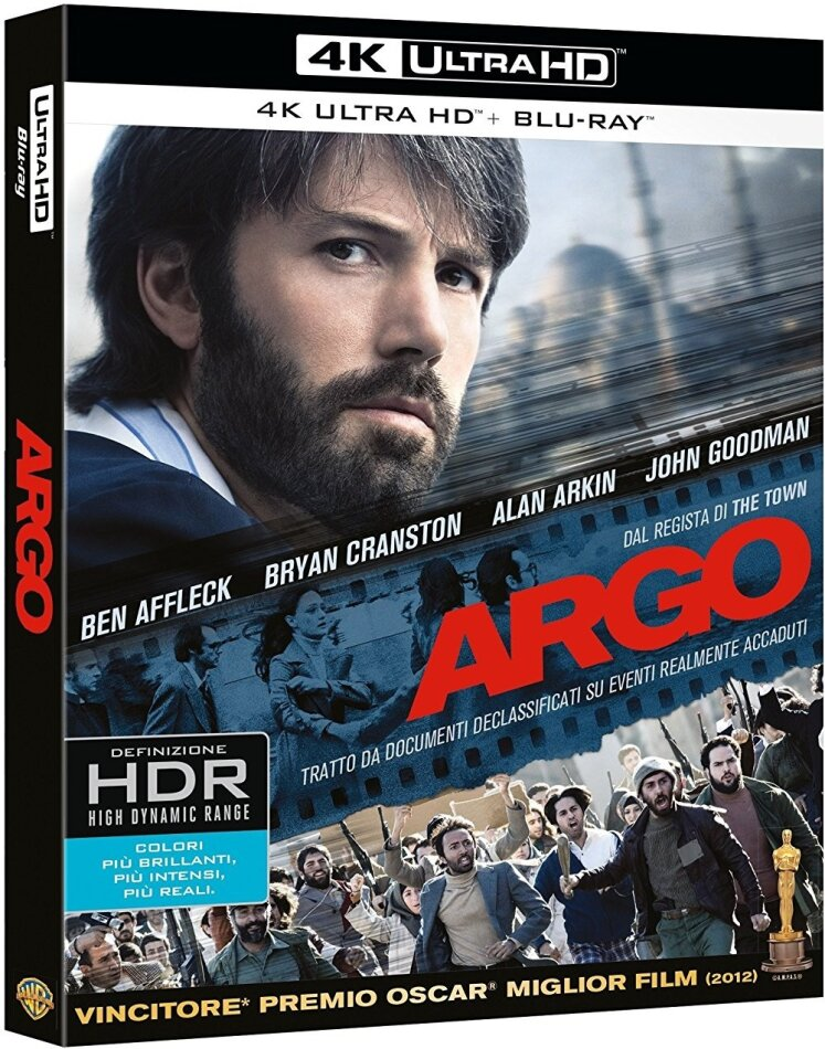 Argo (2012) (4K Ultra HD + Blu-ray)