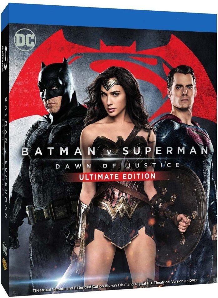 Batman v Superman - Dawn of Justice (2016) (Version Cinéma, Édition Ultime, 2 Blu-ray)