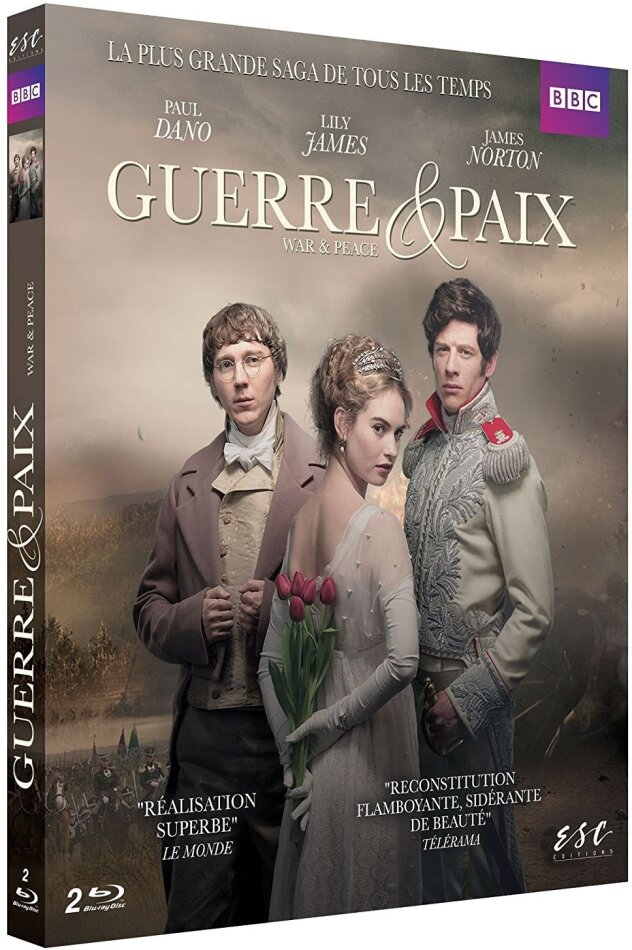 Guerre & Paix - War & Peace - Mini-série (BBC, 2 Blu-rays)