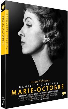 Marie-Octobre (1959) (Collection Version restaurée par Pathé, s/w, Blu-ray + DVD)