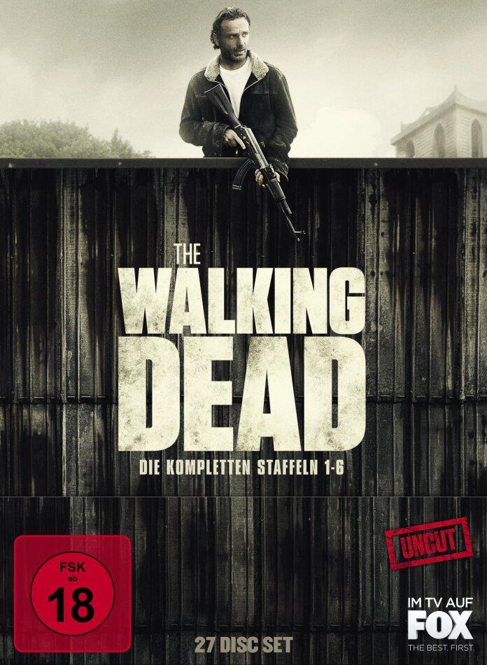 The Walking Dead - Staffel 1-6 (Uncut, 26 Blu-rays)