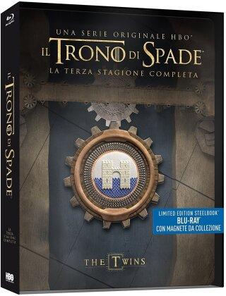 Il Trono di Spade - Stagione 3 (con magnete da collezione, Limited Edition, Steelbook, 5 Blu-rays)