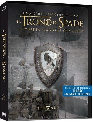 Il Trono di Spade - Stagione 4 (con magnete da collezione, Limited Edition, Steelbook, 4 Blu-rays)