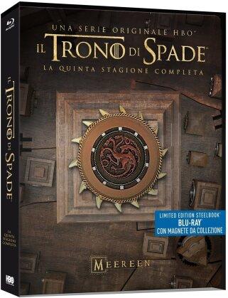 Il Trono di Spade - Stagione 5 (con magnete da collezione, Limited Edition, Steelbook, 4 Blu-rays)