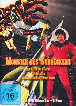 Monster des Schreckens - 3 Spielfilme Box (s/w, 2 DVDs)