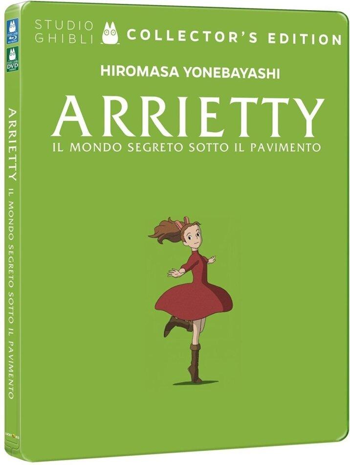 Arrietty - Il mondo segreto sotto il pavimento (2010) (Collector's Edition, Limited Edition, Steelbook, Blu-ray + DVD)