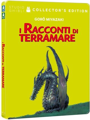I racconti di Terramare (2006) (Collector's Edition, Steelbook, Blu-ray + DVD)