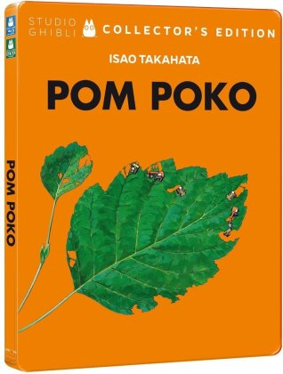 Pom Poko (1994) (Édition Collector, Steelbook, Blu-ray + DVD)