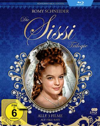 Die Sissi Trilogie (Königinnenblau-Edition, Filmjuwelen, 3 Blu-ray)
