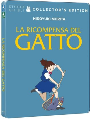 La ricompensa del gatto (2002) (Collector's Edition, Limited Edition, Steelbook, Blu-ray + DVD)