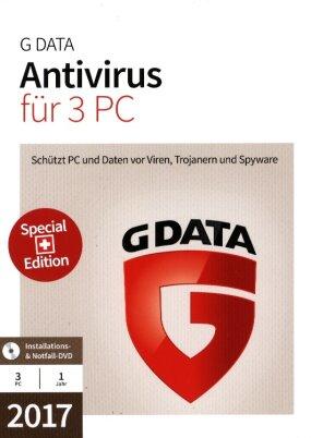 GData AntiVirus 2017 Swiss Edition (3 PC)