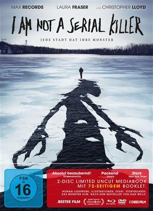 I am not a serial Killer (2016) (Limited Edition, Mediabook, Blu-ray + DVD)