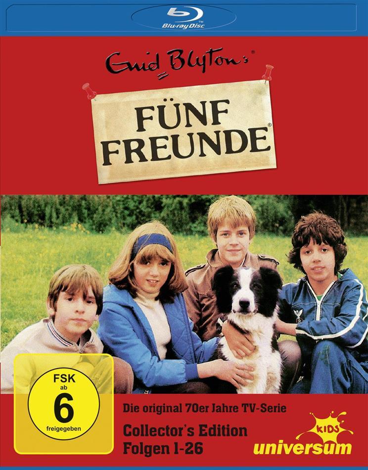 Fünf Freunde (Die original 70er Jahre TV-Serie) - Folge 1 - 26 (Collector's Edition, 3 Blu-rays)