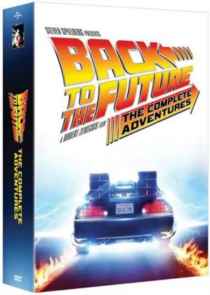 Back to the Future - The Complete Adventures (with Book, 9 DVDs)