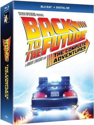 Back to the Future - The Complete Adventures (with Book, 8 Blu-rays)