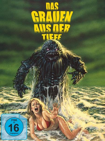 Das Grauen aus der Tiefe (1980) (DigiPak, Collector's Edition, Limited Edition, Remastered, Blu-ray + 2 DVDs)