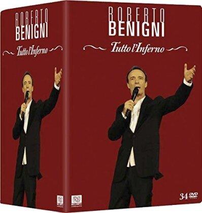 Roberto Benigni - Tutto l'Inferno (34 DVDs)