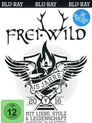 Frei.Wild - 15 Jahre Mit Liebe, Stolz und Leidenschaft (3 Blu-rays)