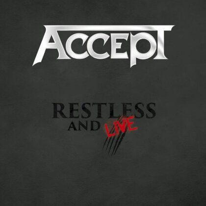Accept - Restless and Live 2015 (Earbook, Blu-ray + DVD + 2 CDs)
