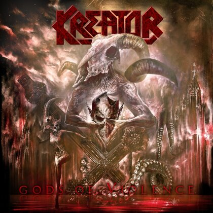 Kreator - Gods of Violence (Blu-ray + 2 CDs + 2 LPs + DVD)