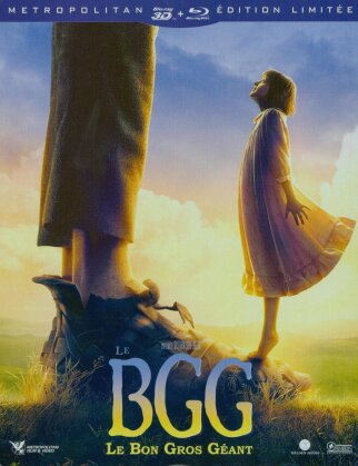 Le BGG - Le Bon Gros Géant (2016) (Edizione Limitata, Steelbook, Blu-ray 3D + Blu-ray)