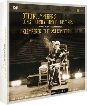 Otto Klemperer - Otto Klemperer´s Long Journey through Times - The Last Concert (Arthaus Musik, Edizione Limitata, 2 DVD + 2 LP + Libro)