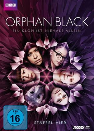 Orphan Black - Staffel 4 (BBC, 3 DVD)