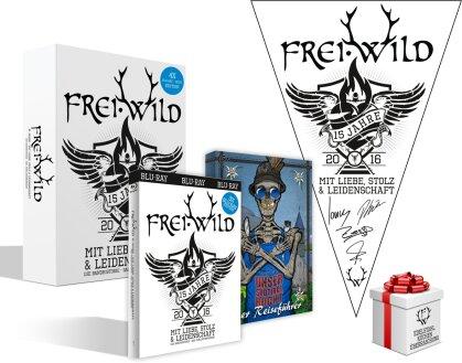 Frei.Wild - 15 Jahre Mit Liebe, Stolz und Leidenschaft (Limited Edition, 3 Blu-rays + Buch)