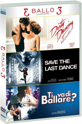 3 Ballo 3 - Tris Ballo - Dirty Dancing / Save the Last Dance / Ti Va di Ballare (Edizione Limitata, 3 DVD)