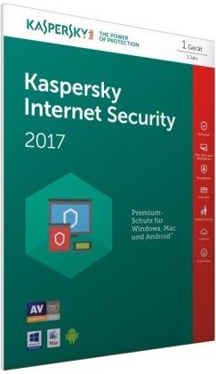 Kaspersky Internet Security 2017 (FFP) (Code in a Box)