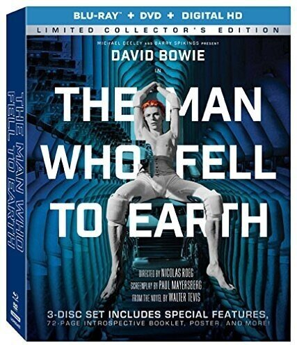 The Man Who Fell To Earth (1976) (Blu-ray + DVD)