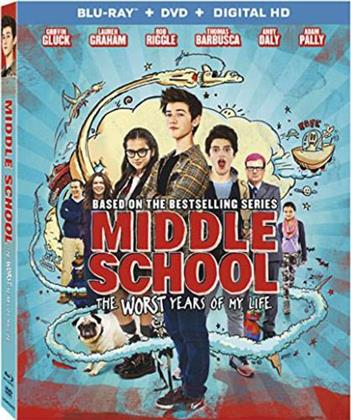 Middle School - The Worst Years of My Life (2016) (Blu-ray + DVD)