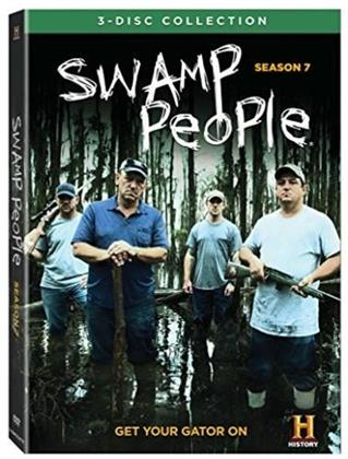 Swamp People - Season 7 (3 DVDs)