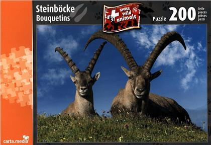 Steinböcke - 200 Teile Puzzle